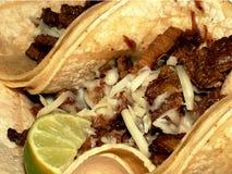 smaskig tacos Arkivfoto