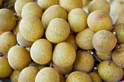 Smaskig thailändsk frukt för ny söt Longan Arkivbilder