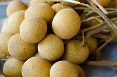 Smaskig thailändsk frukt för ny söt Longan Arkivbild