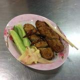 Smaskig thailändsk mat Arkivbilder
