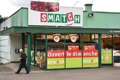 Smatch supermarket in Belgium Stock Images
