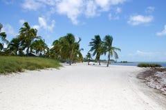 Smathers plaża Fotografia Stock