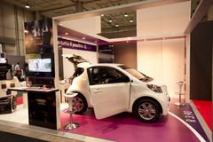 SMAU 2010 - Índice de inteligencia de Toyota Imagen de archivo