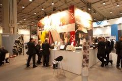 SMAU 2010 - Epson Standplatz Lizenzfreie Stockfotografie