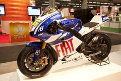 SMAU 2010 - Valentino Rossi Fiat Yamaha Royalty Free Stock Images