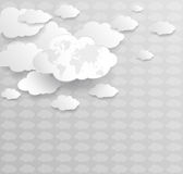 2010计算微软smau的云彩 免版税库存图片