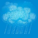 SMAU 2010 - de wolk van Microsoft gegevensverwerking Royalty-vrije Stock Fotografie