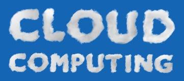 SMAU 2010 - de wolk van Microsoft gegevensverwerking royalty-vrije illustratie