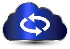 SMAU 2010 - Microsoft nubla-se a computação Imagem de Stock Royalty Free