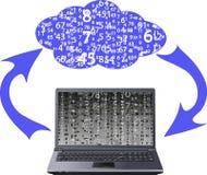 SMAU 2010 - Microsoft nubla-se a computação Foto de Stock Royalty Free