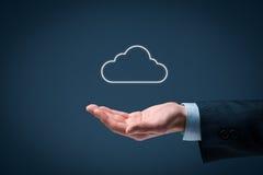 SMAU 2010 - Microsoft nubla-se a computação imagem de stock