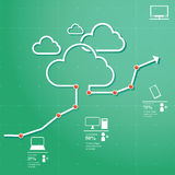 SMAU 2010 - Microsoft se nubla la computación Fotografía de archivo libre de regalías