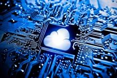 SMAU 2010 - Microsoft se nubla la computación foto de archivo