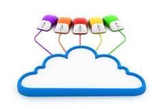 SMAU 2010 - Microsoft se nubla la computación Imágenes de archivo libres de regalías