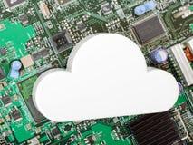 SMAU 2010 - Microsoft se nubla la computación Fotografía de archivo