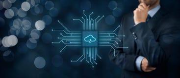 SMAU 2010 - Microsoft-Wolkendatenverarbeitung lizenzfreies stockbild