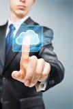 SMAU 2010 - Microsoft-Wolkendatenverarbeitung Stockbilder