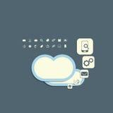 SMAU 2010 - Microsoft-Wolkendatenverarbeitung Lizenzfreie Stockfotos