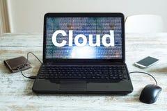 SMAU 2010 - Microsoft-Wolkendatenverarbeitung Lizenzfreie Stockbilder