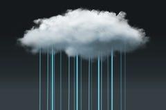 SMAU 2010 - Microsoft-Wolkendatenverarbeitung Stockbild