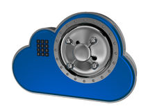 SMAU 2010 - Microsoft-Wolkendatenverarbeitung Stockfotografie