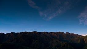 Smazzi la montagna della fitta della pentola o di Phan Xi di si il più alta montagna nell'Indocina a Sapa Fotografia Stock