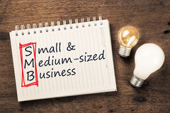 SMB and Bulbs Royalty Free Stock Image