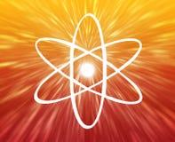 Símbolo atômico Fotos de Stock