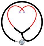 Símbolo clínico de la ayuda Foto de archivo