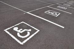 Símbolo da cadeira de roda Fotos de Stock