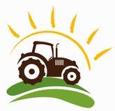 Símbolo da exploração agrícola Fotografia de Stock Royalty Free