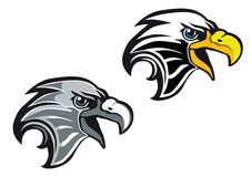 Símbolo da águia dos desenhos animados Imagem de Stock