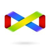 Símbolo da infinidade Fotografia de Stock Royalty Free