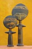 Símbolo de fertilidad africano Imagen de archivo