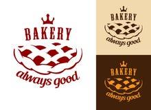Símbolo de la comida de la panadería Fotos de archivo