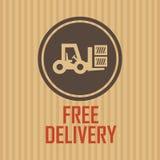 Símbolo de la entrega Imagen de archivo libre de regalías