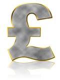 Símbolo de la libra de Bling Fotos de archivo libres de regalías