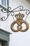Símbolo de la panadería Imagen de archivo libre de regalías