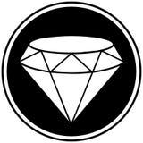 Símbolo del diamante Foto de archivo