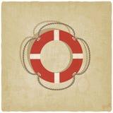 Símbolo del salvavidas Imagenes de archivo