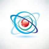 Símbolo del átomo Imagen de archivo