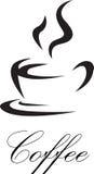 Símbolo do café Fotografia de Stock Royalty Free