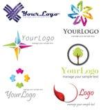Símbolo do logotipo Imagens de Stock Royalty Free