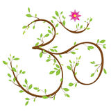 Símbolo do OM Fotografia de Stock Royalty Free