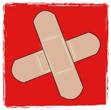 Símbolo dos primeiros socorros Imagens de Stock Royalty Free