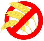 símbolo Gluten-libre Imagen de archivo libre de regalías