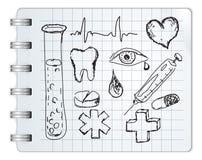 Símbolo médico Imagen de archivo