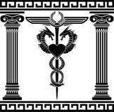 Símbolo médico da fantasia Imagens de Stock
