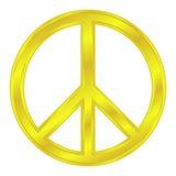 Símbolo pacífico Fotos de archivo libres de regalías