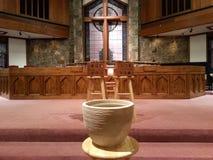 Símbolos cristianos Fotografía de archivo libre de regalías